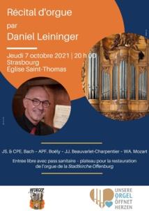 Récitals d'orgue