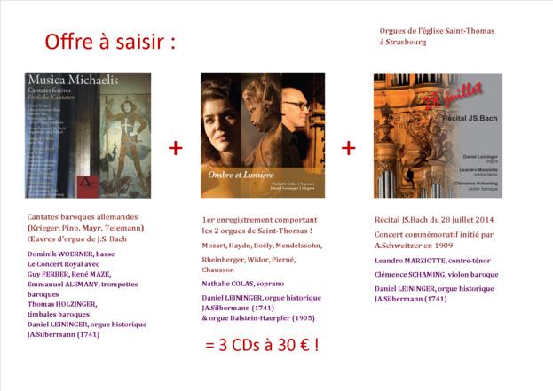 CD Récital JS.Bach - 28 juillet 2014