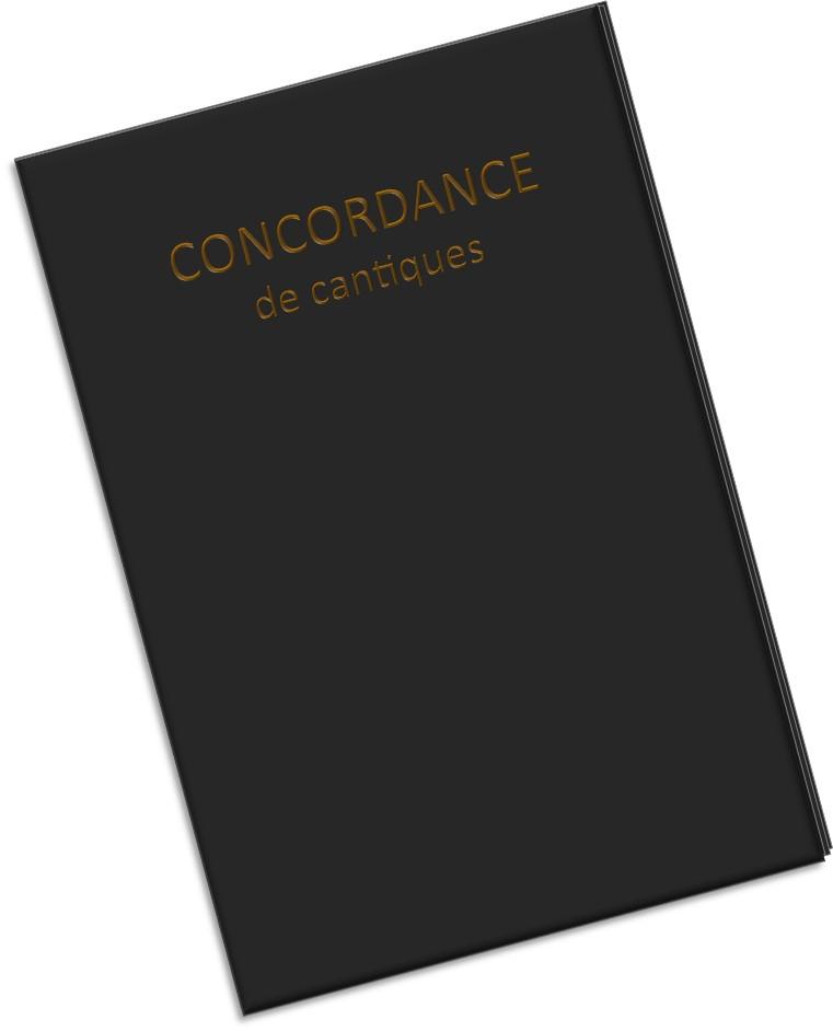 Concordance numérique des recueils de cantiques allemands et français
